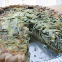 Spinach quiche the best ever recipe for The best quiche ever