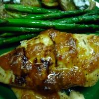 Spicy Apricot Glazed Chicken Recipe