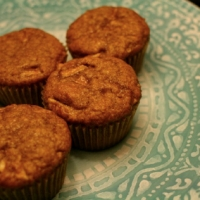 Image of Apple Almond Butter Muffins Recipe, Group Recipes