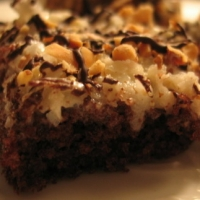 Image of Almond Chococonut Bars Recipe, Group Recipes