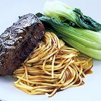 Image of Asian Style Steak Dinner Recipe, Group Recipes
