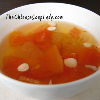 Image of Apaya And Snow Fungus Chinese Dessert Recipe, Group Recipes