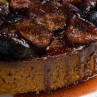 Fall Harvest Special Spiced Honey Cake With Caramelized Figs Recipe