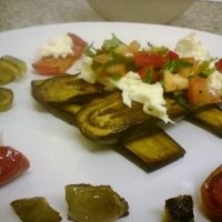 Image of Aubergine Tricolore Recipe, Group Recipes