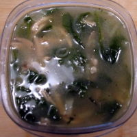 Image of Atkins Chicken Soup With Fennel And Spinach Recipe, Group Recipes