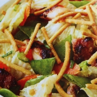 Image of Asian Chicken Salad Recipe, Group Recipes