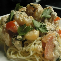 Image of Over The Top Shrimp Scampi Recipe, Group Recipes