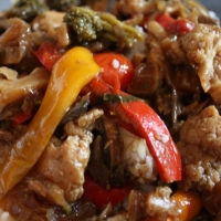 Image of Awesome Chicken And Mushroom Stir - Fry Recipe, Group Recipes