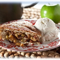 Image of Apple Pecan Tart Recipe, Group Recipes