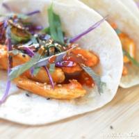 Korean Spicy Chicken Tacos Recipe