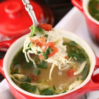Green Chili Chicken And Lime Soup Recipe