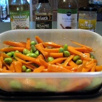 Image of Asian Marinated Carrots & Edamame Recipe, Group Recipes