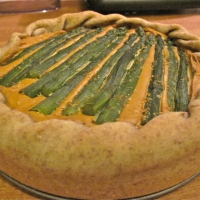 Image of Asparagus Quiche Recipe, Group Recipes