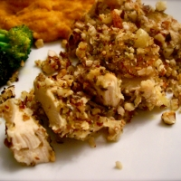 Image of Almond-encrusted Chicken Recipe, Group Recipes