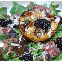 Image of A Southern Summer Salad Recipe, Group Recipes