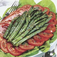 Image of Asparagus Tomato Salad Recipe, Group Recipes