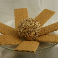 "Image of Almond ""no Bake"" Cheesecake Ball Recipe, Group Recipes"