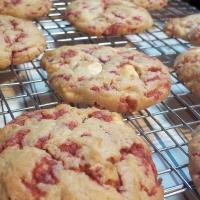 Subway white chocolate raspberry cookies recipe