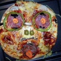 Halloween Pizza Treats Recipe