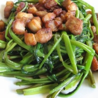 Stir-fry Ong-choy Recipe